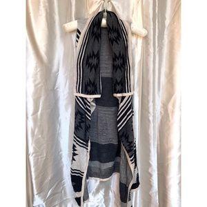 Long sweater vest/cardigan